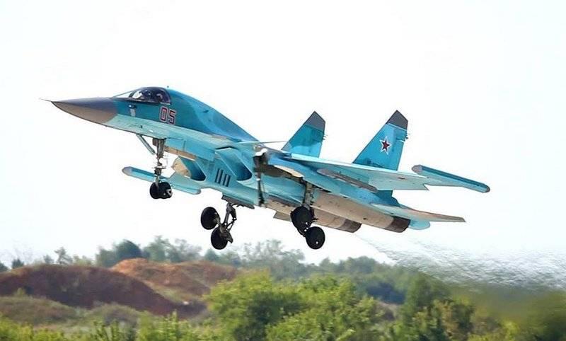 """Су-34 ЗВО получат комплексы РЭБ """"Хибины-2"""""""