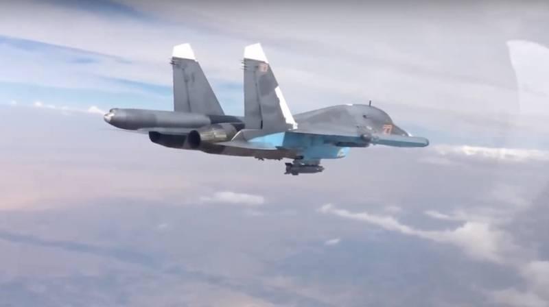 ВКС России уничтожили крупную группу боевиков, обстрелявших турецких военных