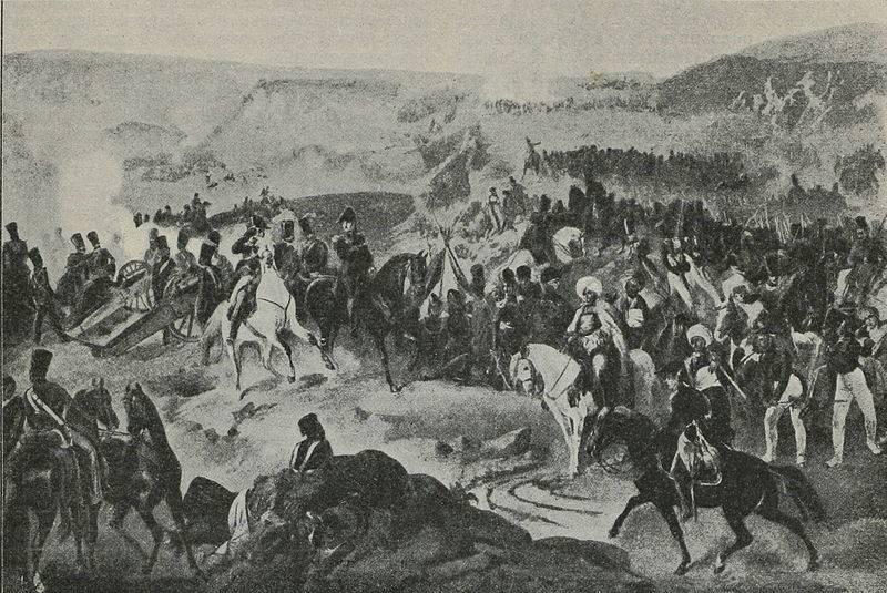 クレブチンスコエの戦い。 Dibichがバルカン半島を通ってロシア軍への道を開いた方法