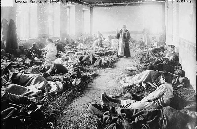 प्रथम विश्व युद्ध के लिए रूसी सैन्य चिकित्सा क्यों तैयार नहीं थी