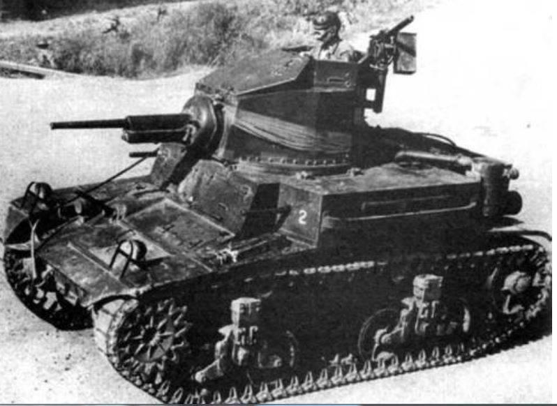 戦間期のアメリカの軽戦車