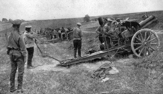 Three repulsed the attack. The battle near the village of Balai, the 3rd of June 1915