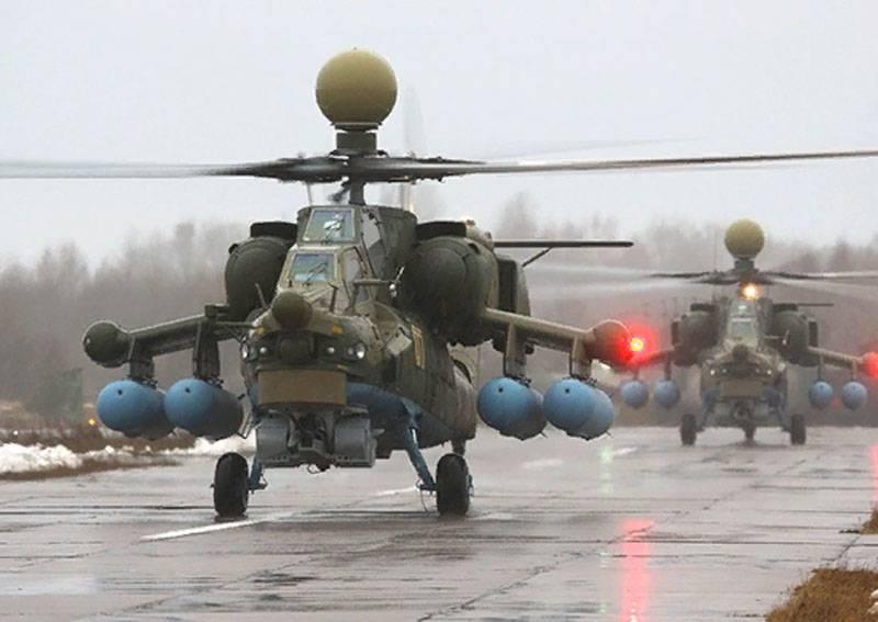 Новейший Ми-28НМ успешно прошёл испытания в Сирии