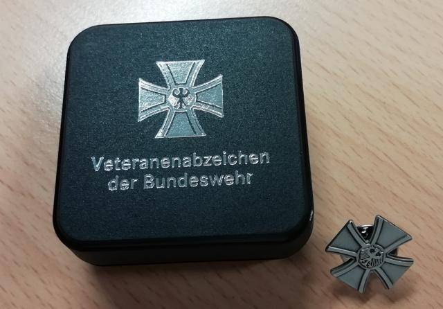 Bundeswehr for the first time presented the badge veteran