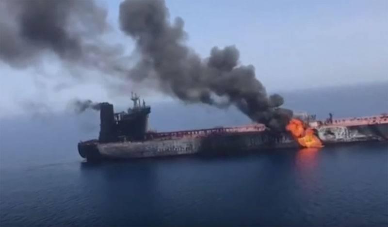 США представили полную версию видео с якобы катером Ирана у борта танкера