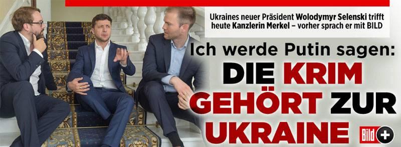 Зеленский: Я скажу Путину, что Крым принадлежит Украине