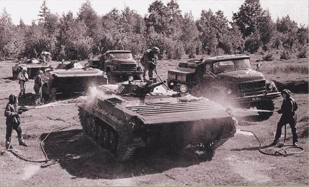 BMP-1: Der Streitwagen der Atomschlacht