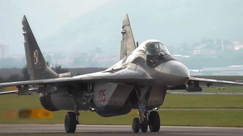 Nomeado o motivo para o funcionamento anormal do ejetor K-36DM na Força Aérea Polonesa do MiG-29
