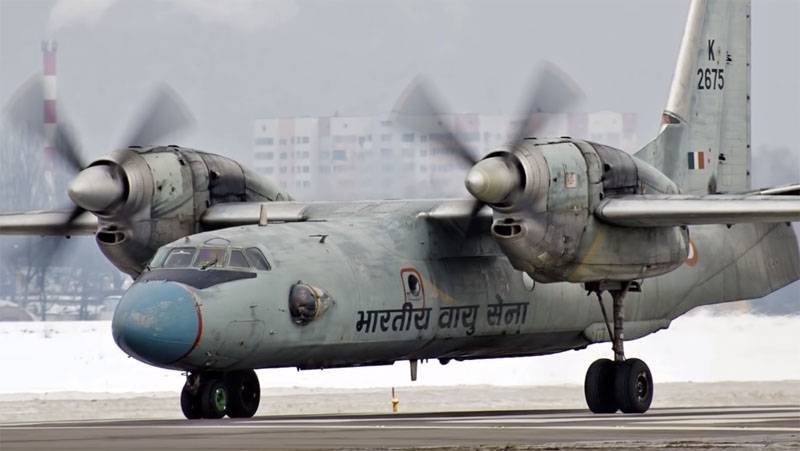 Indian commando a few days can't get to the crash site of An-32