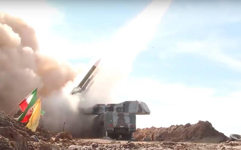 Nomeado sistema de defesa aérea iraniano, que foi abatido por UAVs dos EUA