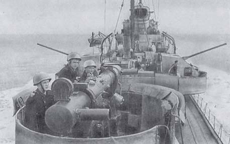 Modernização dos navios de guerra soviéticos: calibre e torpedos anti-minas