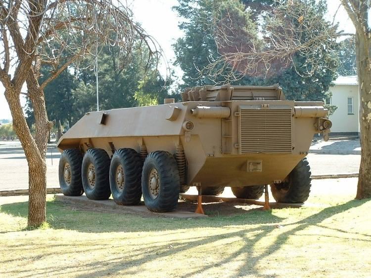 दक्षिण अफ्रीकी व्हील टैंक रूइकैट