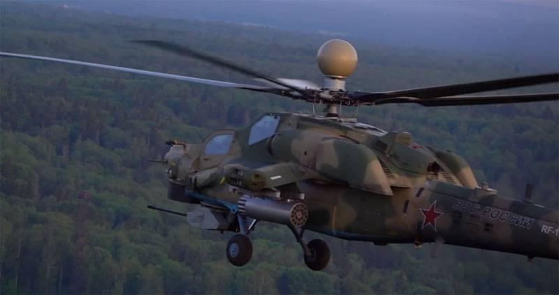 "The upgraded Mi-28HM ""Night Hunter"" is invulnerable to military air defense"