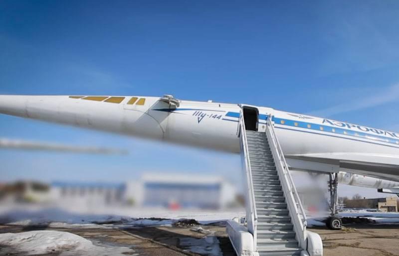 Tu-144: la carrera por lo civil supersónico