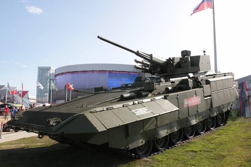 «Кинжал» и другие образцы вооружения для ТБМП Т-15