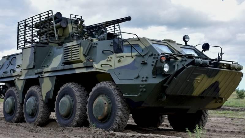 Производство бронетехники на Украине под угрозой срыва