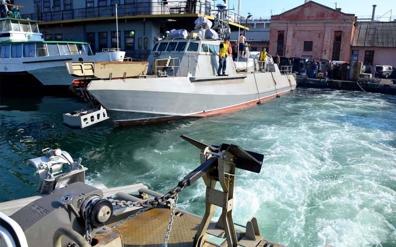 """यूक्रेनी नौसेना के जहाज की प्रतिकृति: DSHK """"सेंटूर"""""""