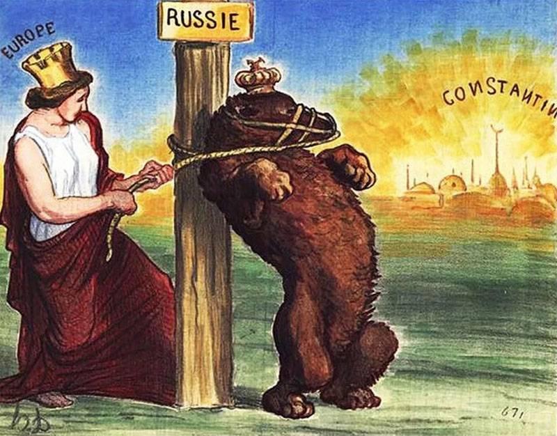Russophobie lebte, lebt und wird leben ...