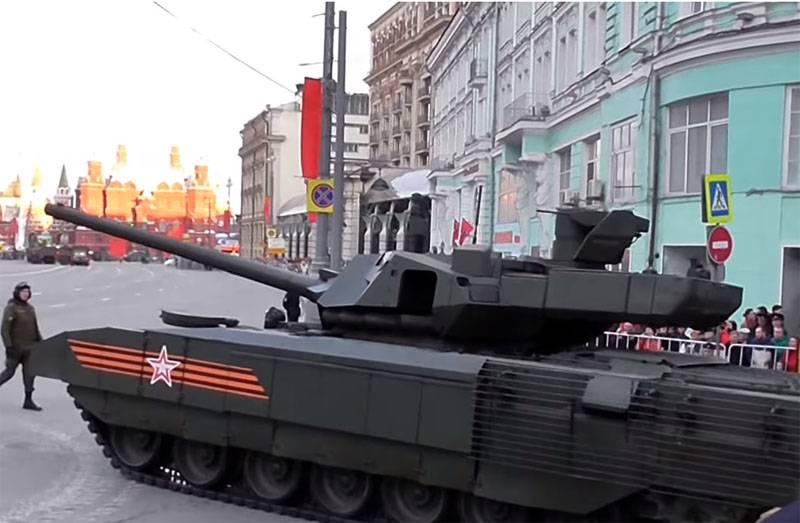 """Nos EUA, eles chamaram o T-14 de """"Armata"""" de super tanque, mas duvidaram do potencial de exportação"""