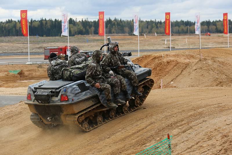 Российские ВДВ начали второй этап испытаний транспортного робота