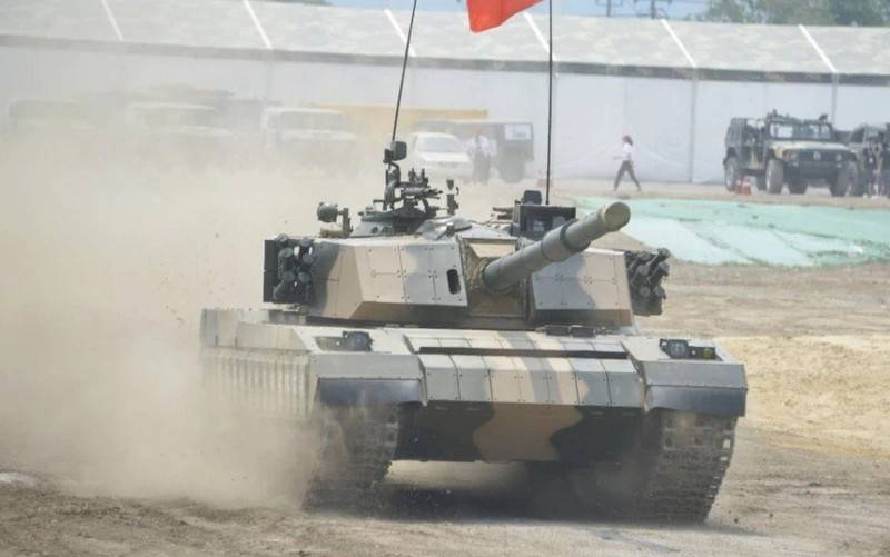 Upgraded Chinese tanks 50 years are exported