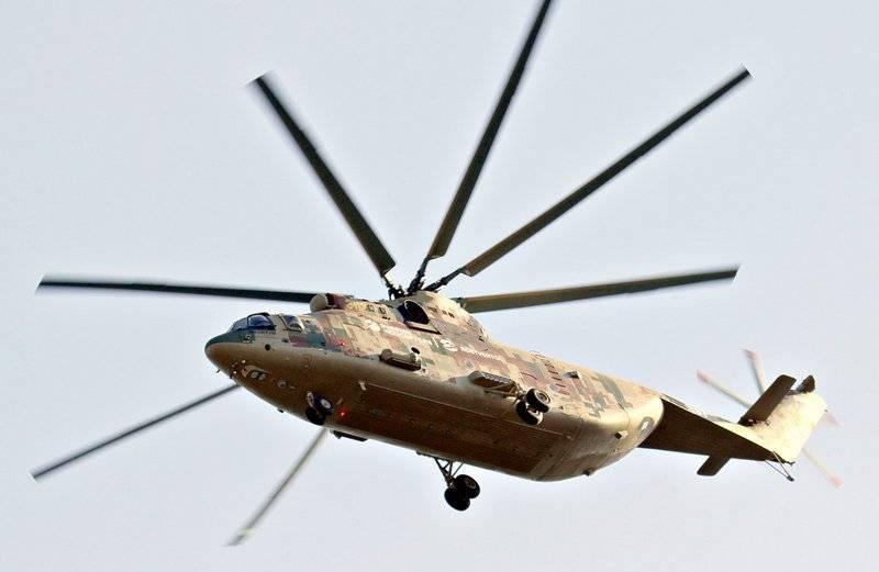 Dünyanın en ağır helikopteri MI-26Т2В arktik versiyonu alacak