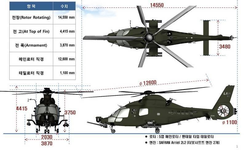 Южнокорейский ударный вертолёт LAH впервые поднялся в воздух (видео)
