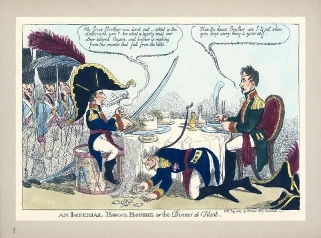 नेपोलियन के खिलाफ सिकंदर। पहली लड़ाई, पहला मुकाबला