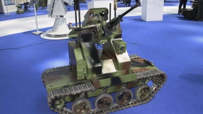 Tests des neuesten Kampfroboters endeten in Serbien