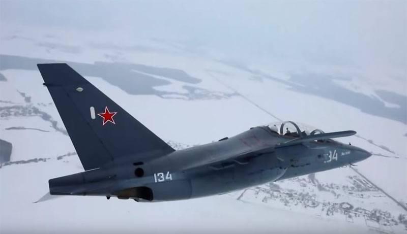 Na Força Aérea Indiana interessado em russo UBS Yak-130