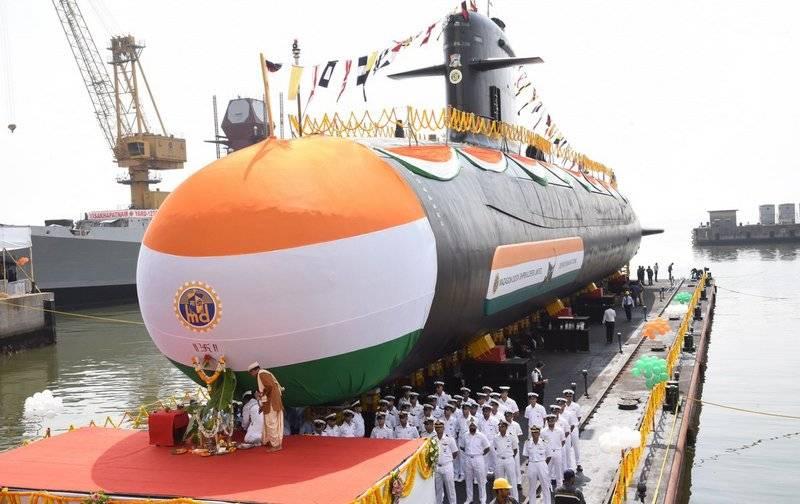 Rússia ofereceu a Índia desenvolvimento e construção conjunta de submarinos diesel-elétricos