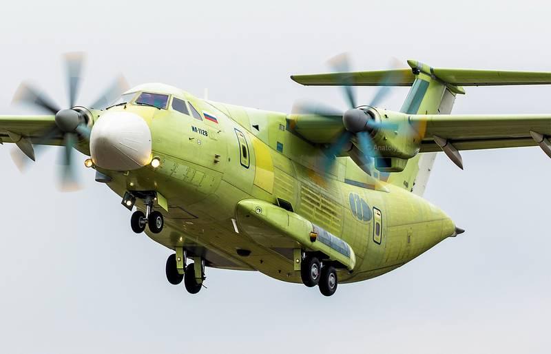 O transporte militar Il-112V será mais leve em 2 toneladas