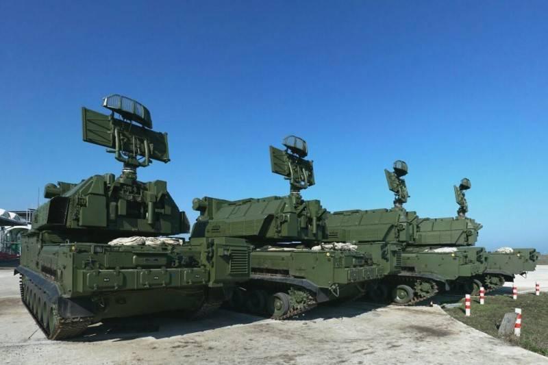 "the Main naval base of black sea fleet will cover SAM ""tor-M2"""