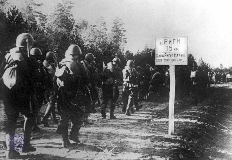 "Latvia called the liberation of Riga from the Nazis ""the beginning of Soviet occupation"""
