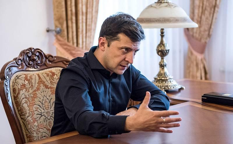 Zelensky suggested lyustrirovat Poroshenko and all his officials