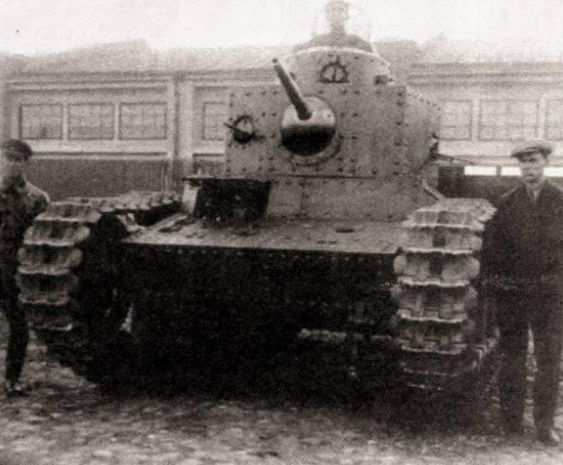 戦間期におけるソ連の中型および大型戦車