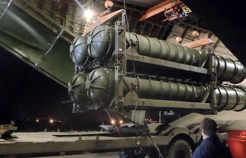 Россия начала поставки С-400 вТурцию