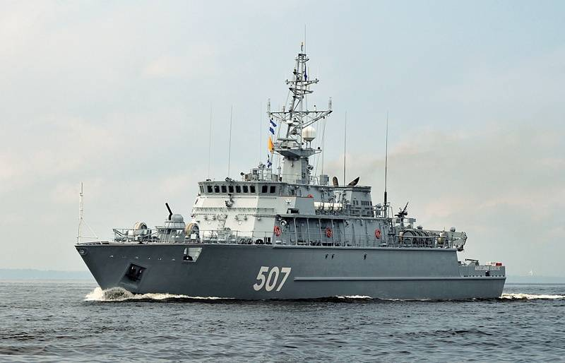 """In Saint-Petersburg laid the seventh project 12700 minesweeper """"Alexandrite"""""""