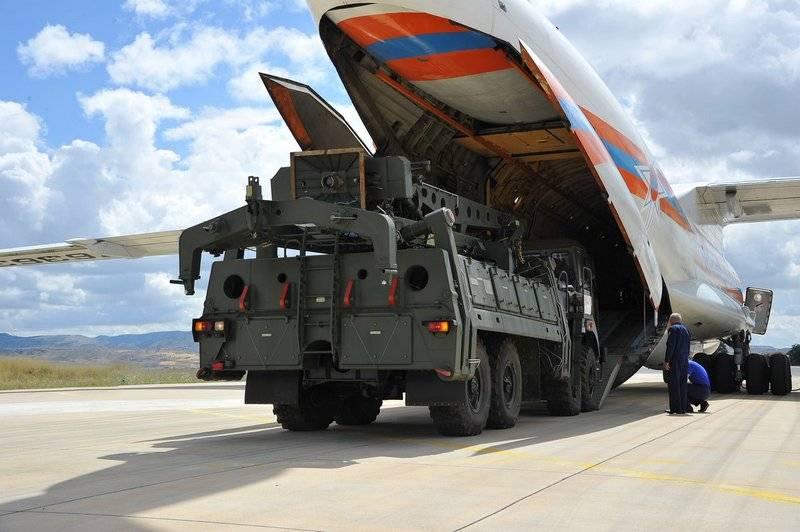 В Турции приземлился четвёртый самолёт с элементами ЗРС С-400