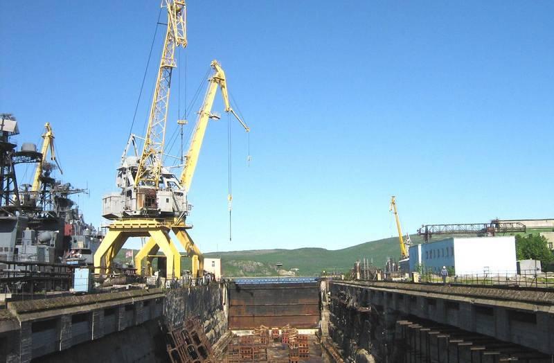 TsSR Zvezdochka a signé un contrat pour la modernisation de la cale sèche sous Kuznetsov