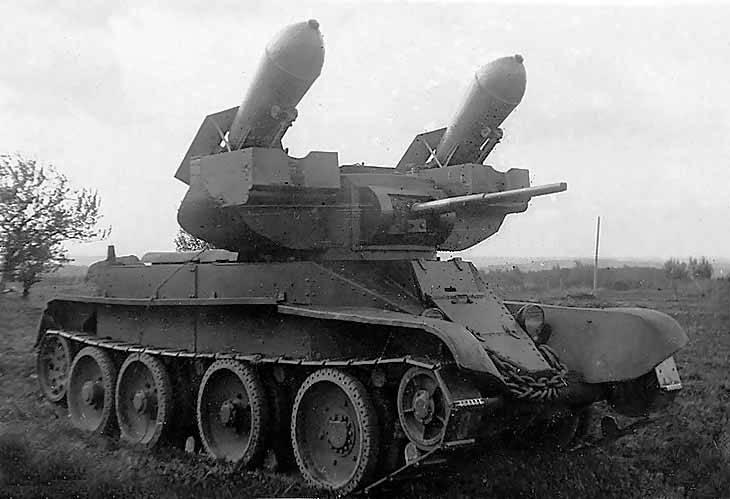 """Tanklar için füze silahları. Torpidolar """"TT"""""""