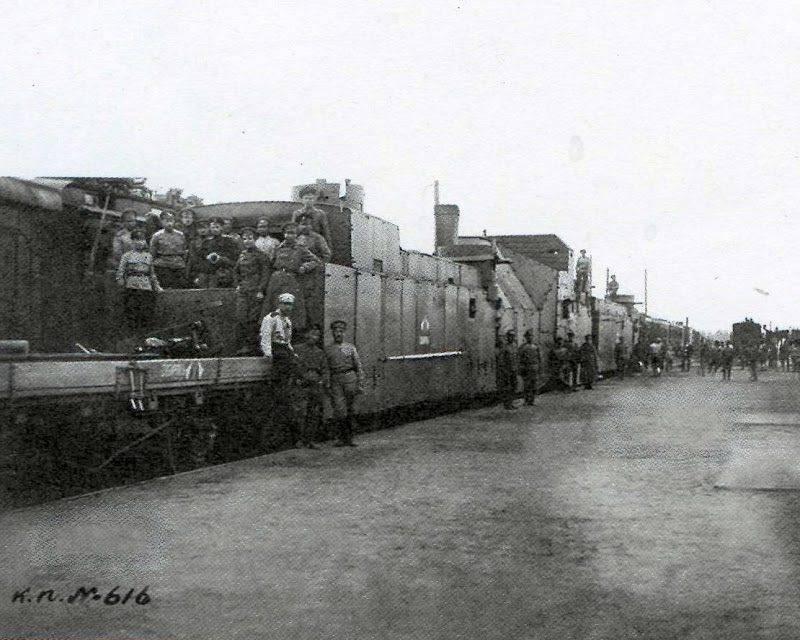 Die Niederlage von Koltschak in der Schlacht von Tscheljabinsk