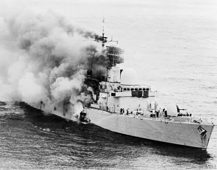 Надводные корабли против самолётов. Ракетная эра