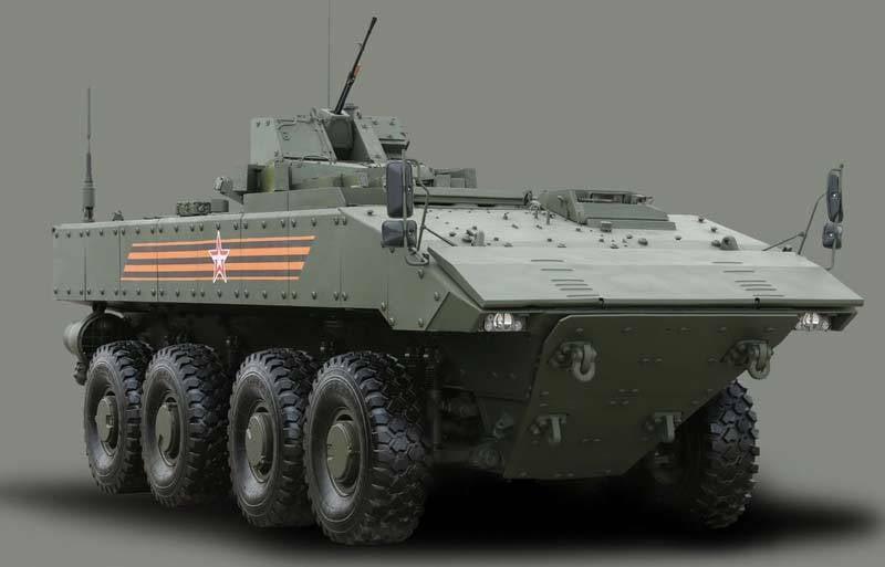 """अपने पूर्ववर्तियों की तुलना में BTR और BMP """"बूमरैंग"""""""