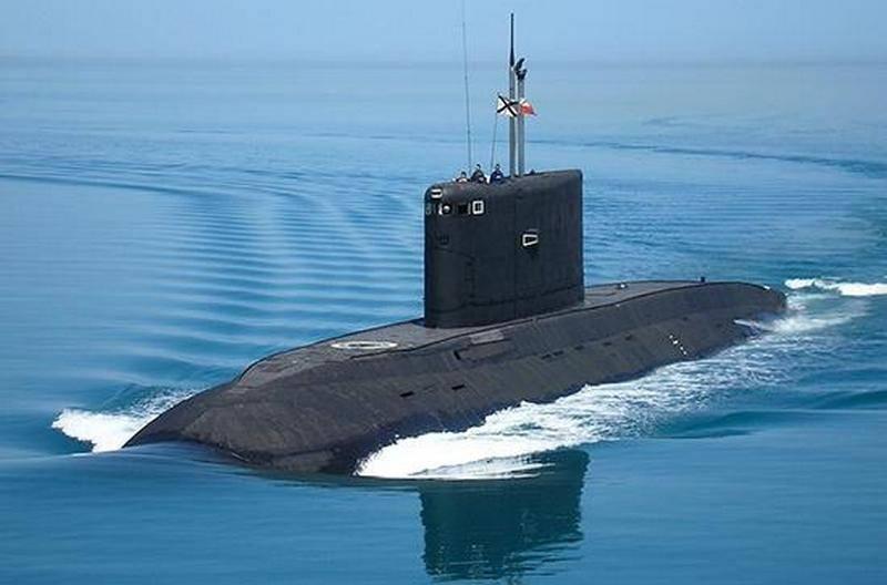 """Подводная лодка """"Новороссийск"""" ЧФ закончила доковый ремонт"""