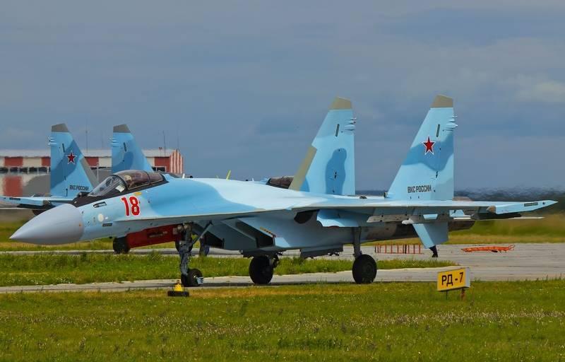 Three su-35S entered service in the 790-th regiment ZVO