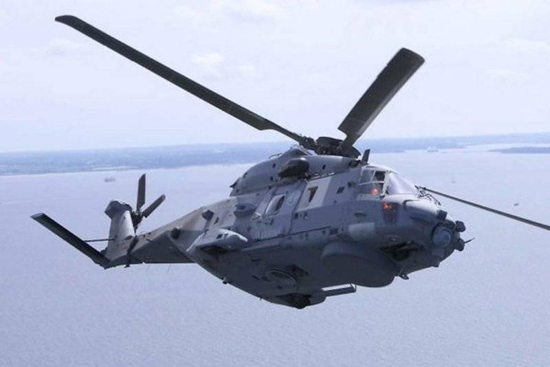 Marinha alemã adota novos helicópteros NH90 Sea Lion