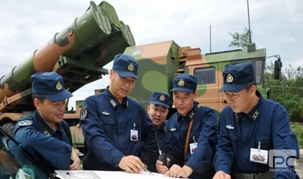 Chinesische Verteidigung nahe Seezone