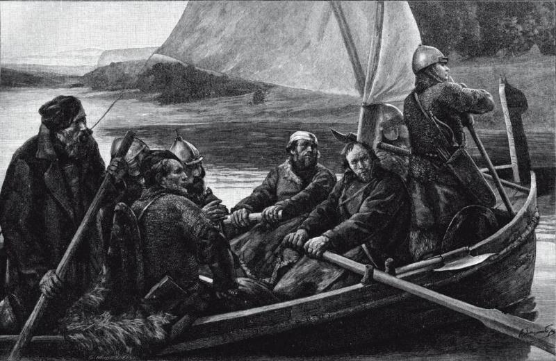 «Багрить на море кораблики урманские, да на Волге жечь остроги басурманские». «Детские» забавы ушкуйников