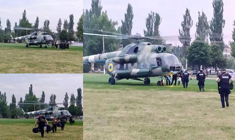 Названа причина переброски спецназа МВД Украины в Донецкую область
